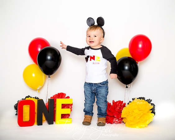 Kalvin's 1st Birthday