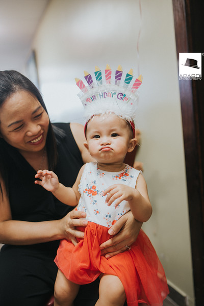 Aimy First Birthday