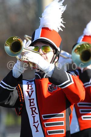 Nov. 28 2013 - Beverly High School Marching Band - Thanksgiving