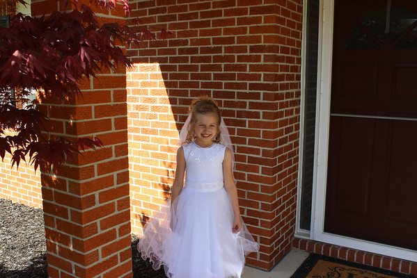 Alison's First Communion May 2013