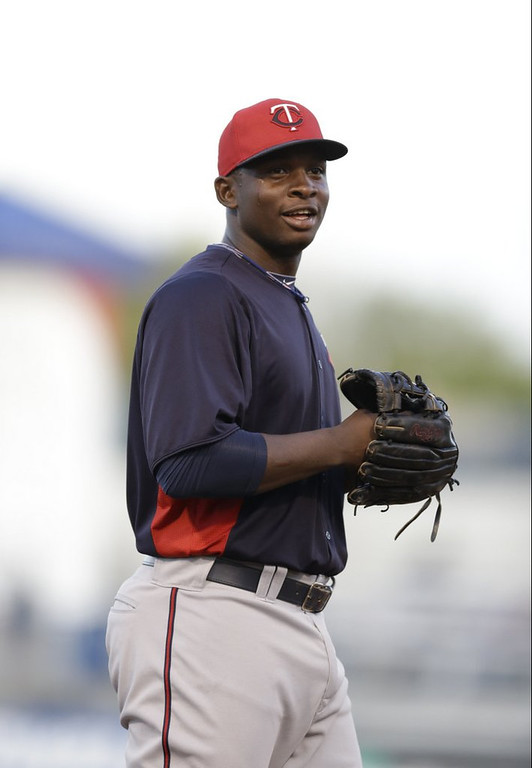 """. <p><b><a href=\'http://www.twincities.com/sports/ci_23733813/minnesota-twins-miguel-sano-disciplined-at-double\' target=\""""_blank\""""> 5. Miguel Sano </a></b> <p>Twins bench hotdog prospect for 29-second home run trot, used to pay Kent Hrbek millions for doing the same. (unranked) <p> --------------------------------------------   (AP Photo/Kathy Willens)"""