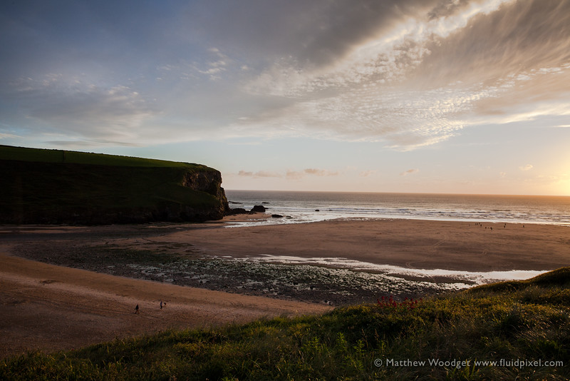 Woodget-140607-195--cloud formation, coast, coastal, coastline, green, mawgan porth, ocean - water, sunset - TIME OF DAY.jpg