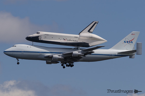 Space Shuttle Enterprise 2012