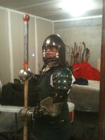 Marguerite's New Armor