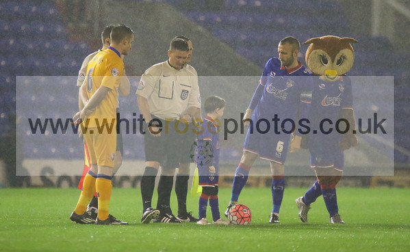Oldham Athletic v Mansfield Town 17 - 11 - 15