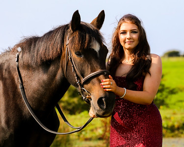 Prom Dress Portrait Shoot - Georgina Donaughee