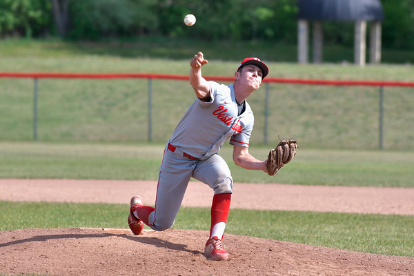 Breckenridge at Vestaburg Varsity Boys baseball 5-18-21