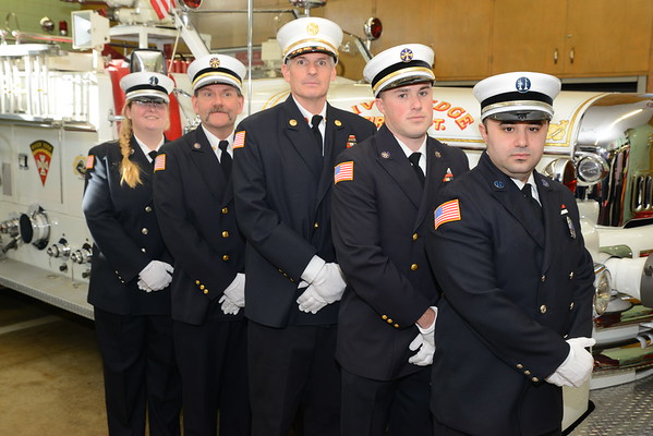 2020 River Edge, NJ Fire Department Officers