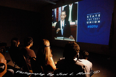2014-01-28 State of the Union Address Viewing with Somos America