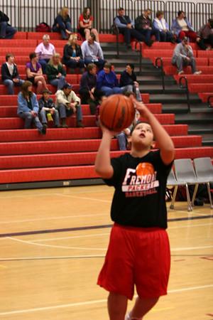 Middle School Boys Basketball 7A - 2009-2010 - 12/2/2009 Grant