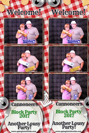Cannoneer's Block Party 7-16-17