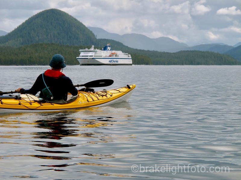 BC Ferries 'Northern Expedition' in Seaforth Channel