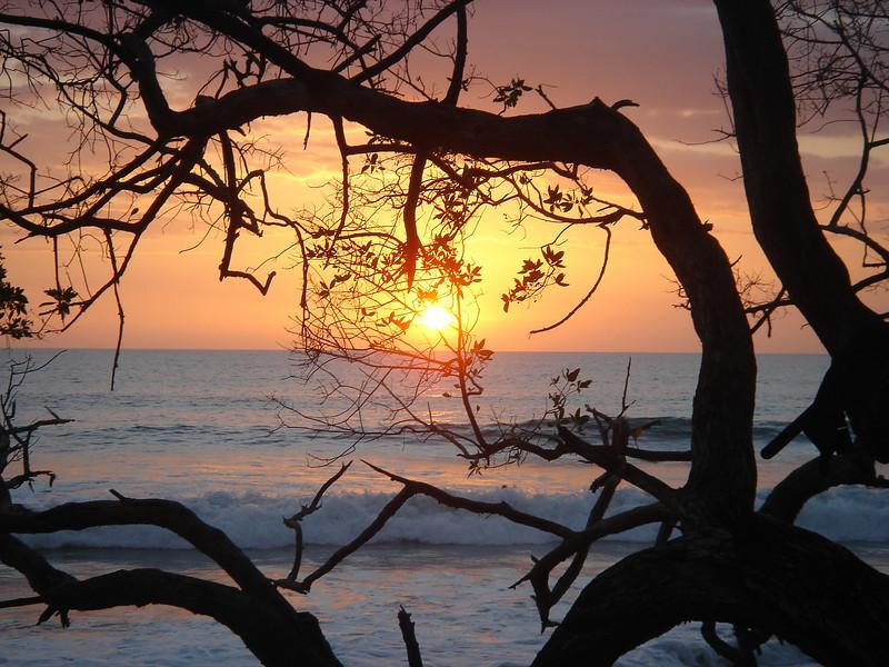 st teresa sunset, costa rica