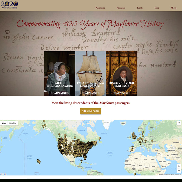 19.	Mayflower 400 website image