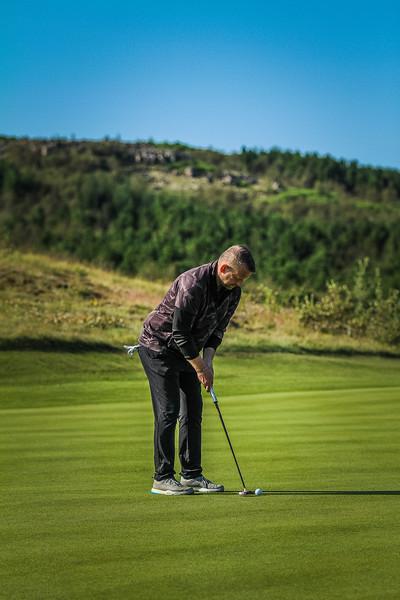 GB, Rafn Stefán Rafnsson Íslandsmót í golfi 2019 - Grafarholt 2. keppnisdagur Mynd: seth@golf.is
