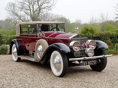 1927 Rolls-Royce Phantom I All Weather Cabriolet by Murphy SV 8070