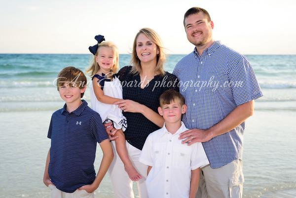 The Phillips family  |  Panama City Beach