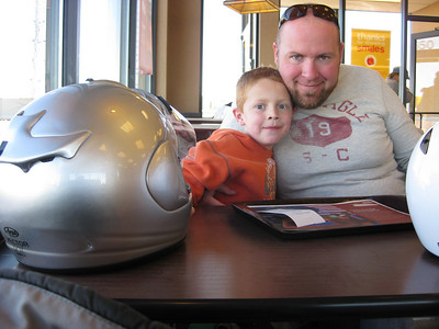 2011 Feb Motorcycle Trip with Xander