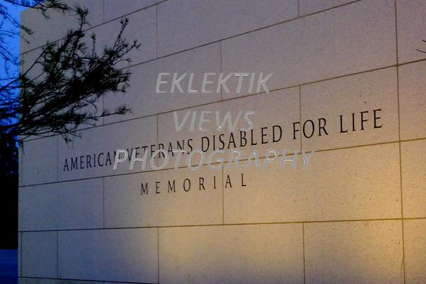 Disabled Veterans Memorial Washington DC
