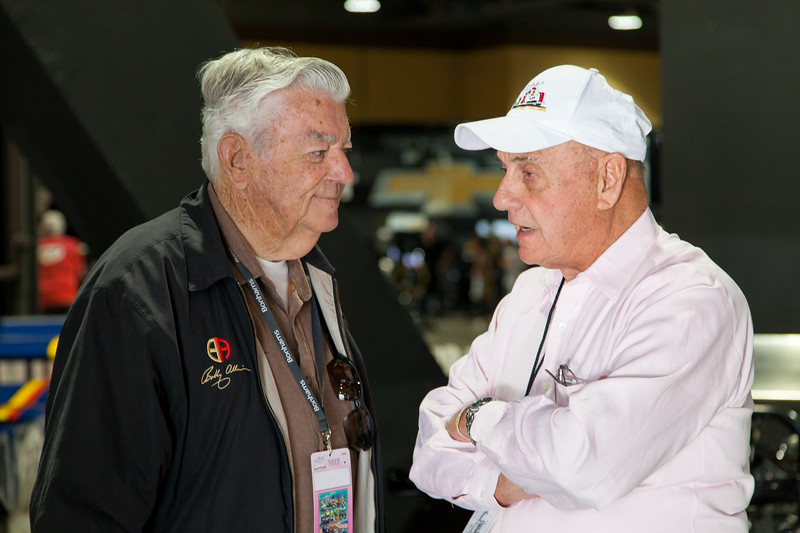 NASCAR legend Bobby Allison and road racing champion George Follmer