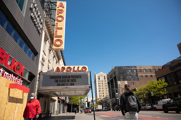 2020 Apollo Theater Marquee - Stills