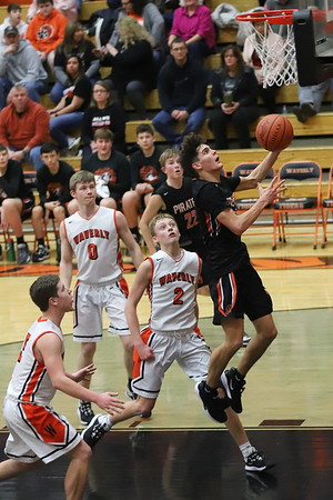 21JV Boys Basketball:  Wheelersburg JV at Waverly JV 2020