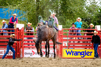 Rodeo Riding AF-C Tracing Sample