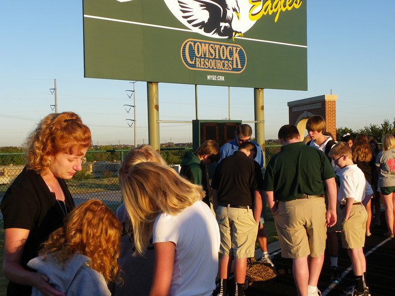 See You at the Pole - Mrs. Bicknell's Group.JPG