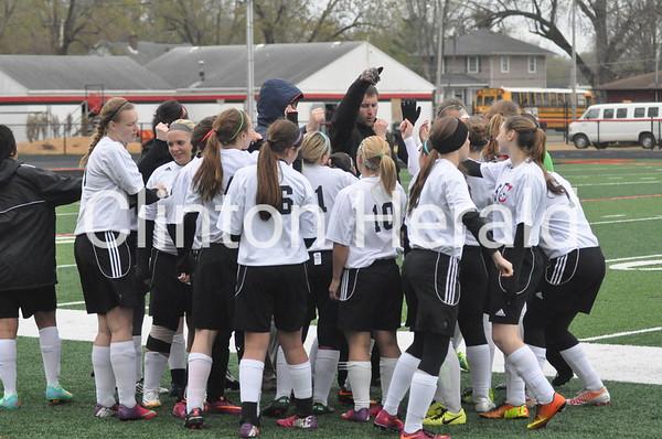 Davenport North at Clinton girls (5-1-14)