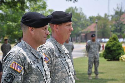 2010 07 07 Armor School Assumption of Command