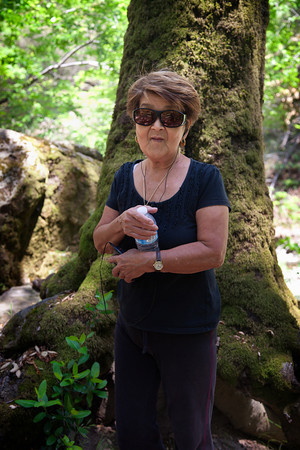 Mom at Alum Rock Park