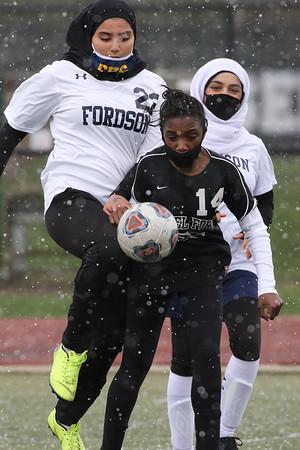 Edsel JV  Girls Soccer vs Fordson