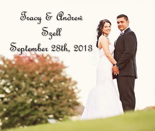 Tracy & Andrew 13x11 Wedding Album