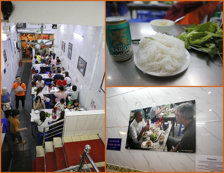 Bun Cha Huong Lien - a famous restaurant in Hanoi