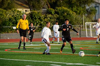 161122 LHS Men's JV Soccer Vs Logan