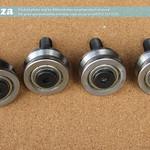 SKU: P-WHEEL/L, 4 Wheels Set for MetalWise Lite CNC Plasma Control Unit