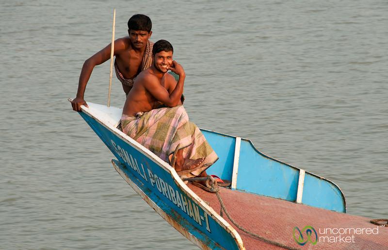 Friendly Boat Staff - Khulna, Bangladesh