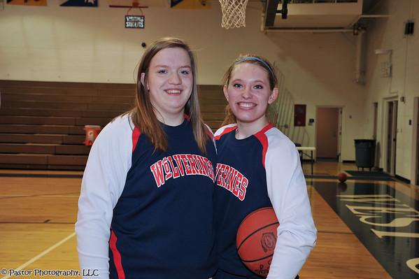 WGHS Girls Basketball Senior Night
