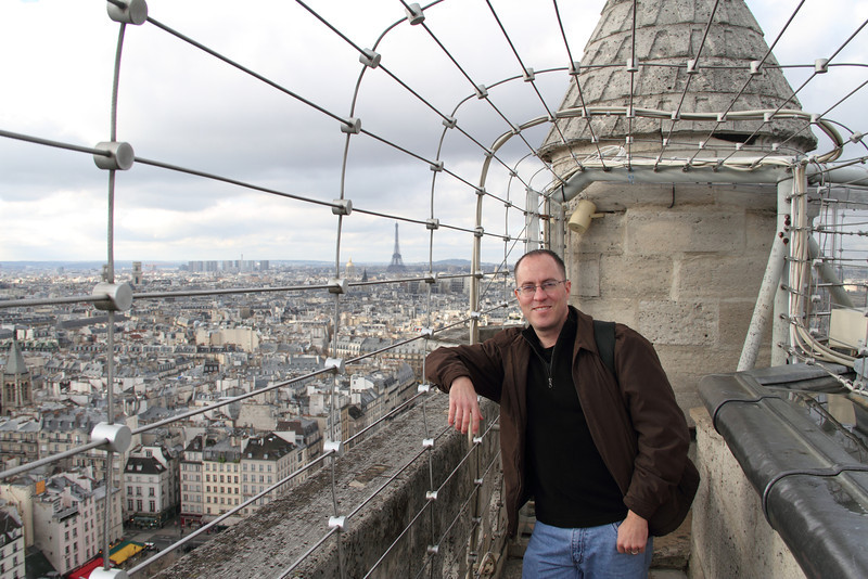 Me on top of Notre Dame