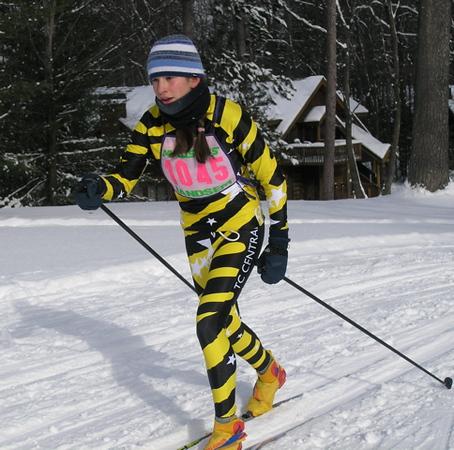 Junior girls champion, Julie Otwell