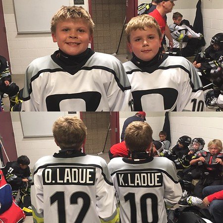 2016 Outliers Squirt Hockey