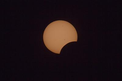 Partial Solar Eclipse 2012
