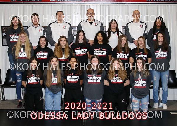 2020-2021 OHS Girls Wrestling