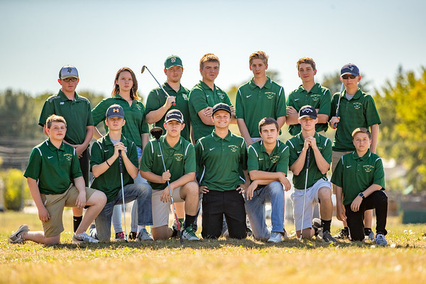 2017-09-29 OHCHS Golf Team