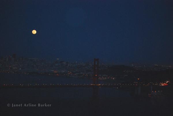 San Francisco-Super Moon 2012