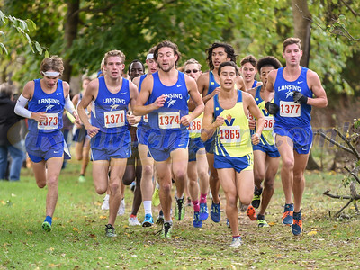 Men's During Race - 2017 NJCAA Region #12 XC