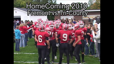 Video - Boys Varsity Football - 2010-2011 - 9/24/2010 Tri-County Highlights (Homecoming)