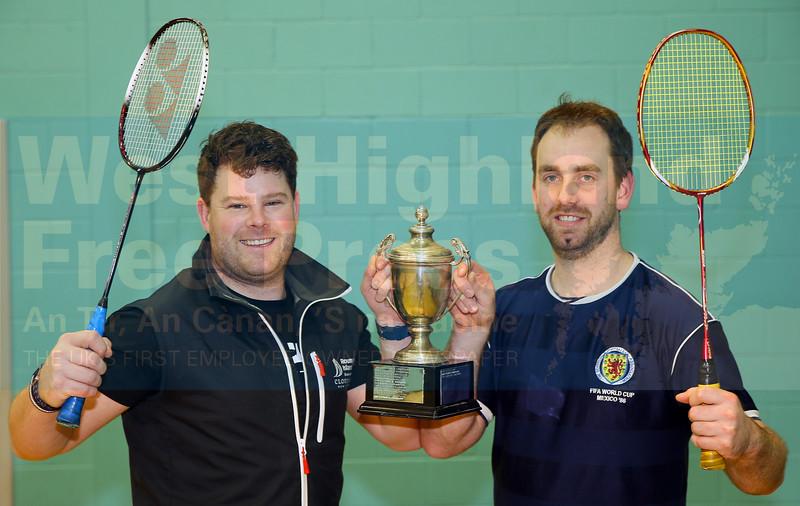 Winners - Jonathon MacKinnon and Stewart Johnson.