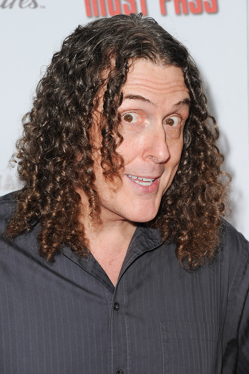 ". Alfred ""Weird Al\"" Yankovic arrives at the LA Premiere of \""All Things Must Pass\"" in Los Angeles in October 2015. Yankovic will perform at the Akron Civic Theatre on June 24. For more information, visit <a href=\""http://www.akroncivic.com/site/page.php?id=422&eventid=2101\"">akroncivic.com</a>. (photo credit: Richard Shotwell/Invision/AP)"