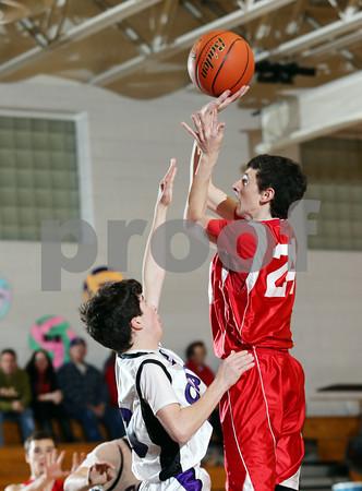 2014 Cameron County Boys JV Basketball @ Coudersport